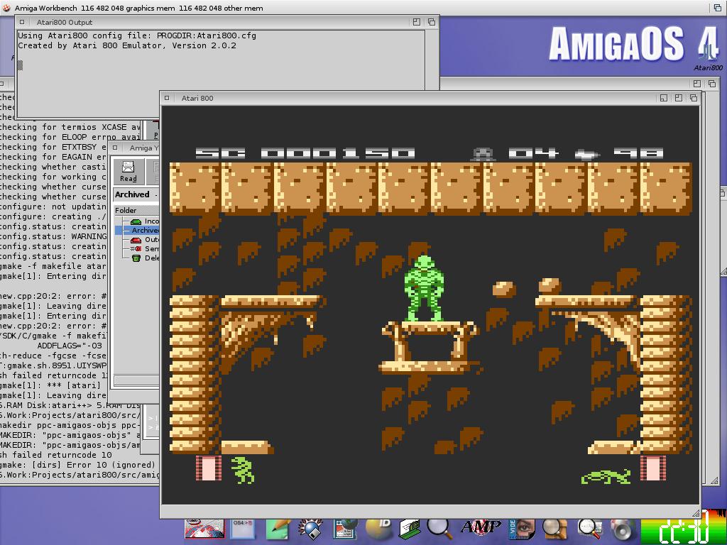 Atari800 - Atari 800, 800XL, 130XE and 5200 emulator for AmigaOS