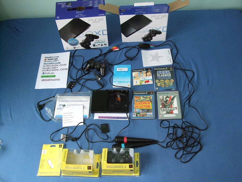 Review of the console system Sony PlayStation 2 (PS2)
