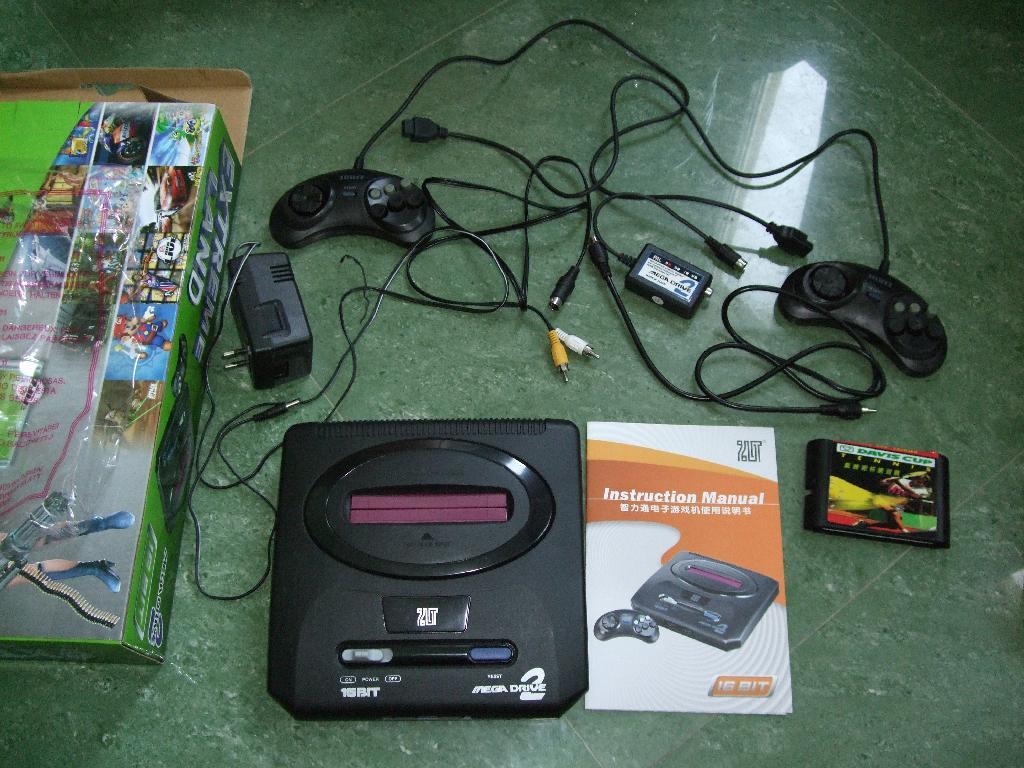 Review Of Console System 16 Bit Mega Drive 2 Sega Mega